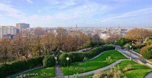 parc belleville : 20e arrondissement de Paris