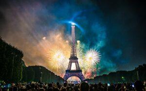 Feu d'artifice à Paris