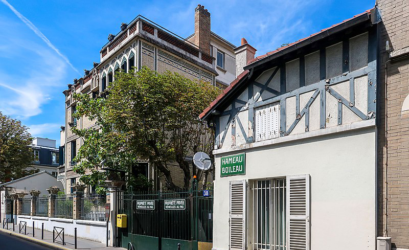 Hameau Boileau, Paris 16e