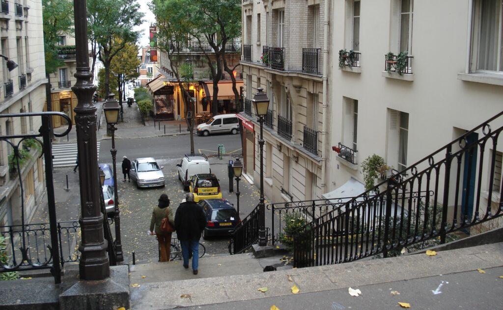 métro Lamarck-Caulaincourt