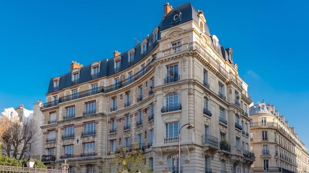 Immeuble haussmanien - 16e arrondissement de paris
