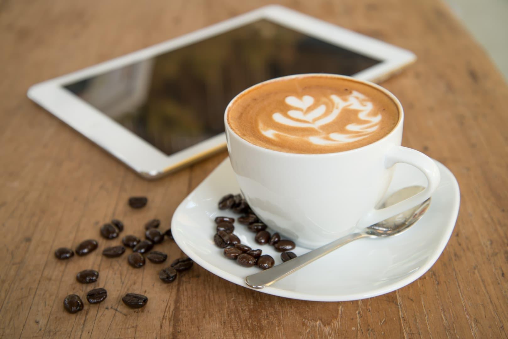 décrire le projet immobilier autour d'un café