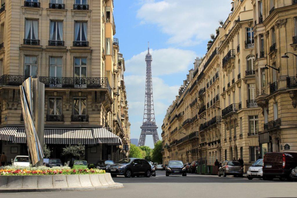 Les prix de l'immobilier à Paris connaît une baisse en baisse