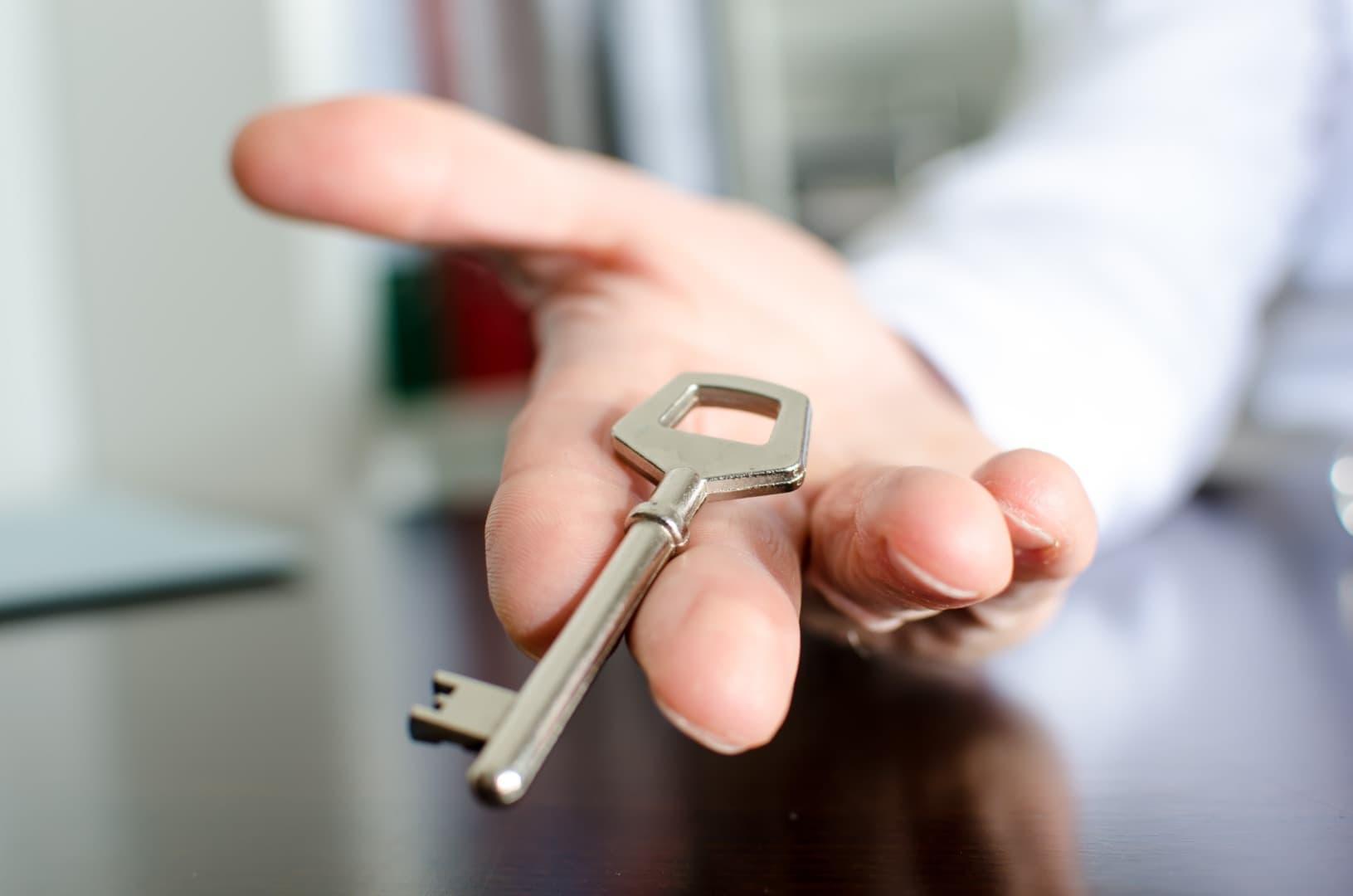 remise des clés anticipée