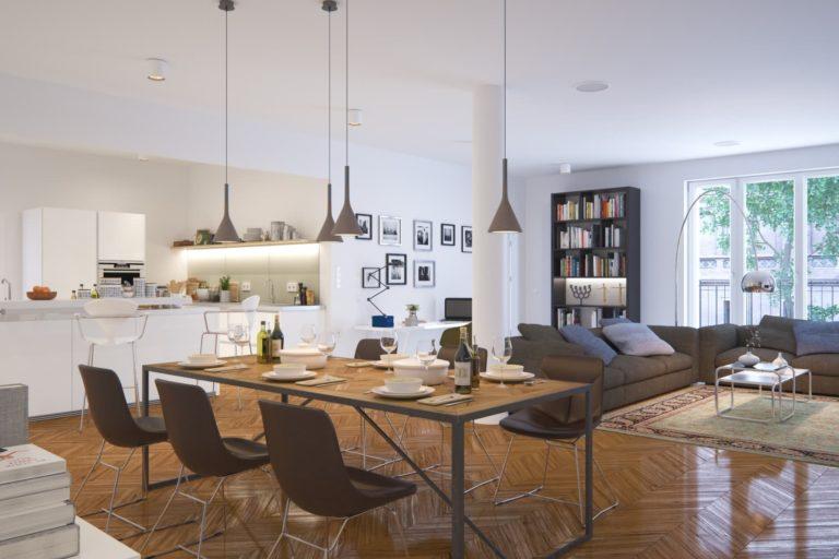 Home staging: salle à manger
